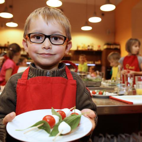 Pan Brambora a jeho kamarádi - dětský kurz vaření s Markétou Hrubešovou