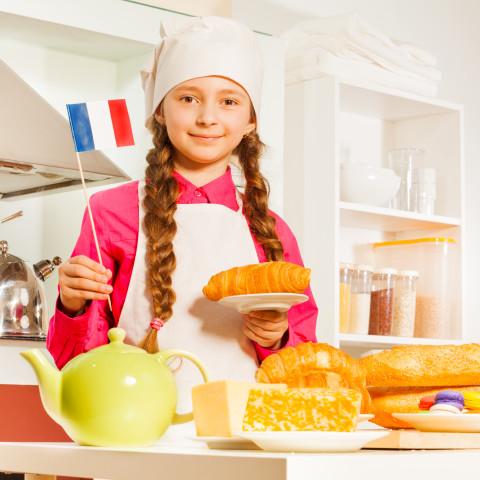 Francouzská kuchyně pro mladší děti