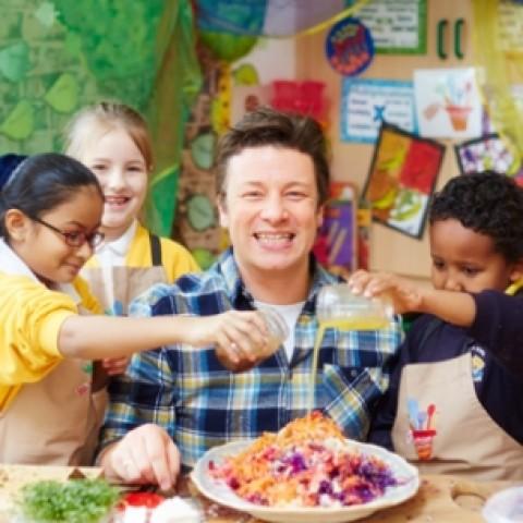 Dětský kurz s recepty Jamie Olivera 2