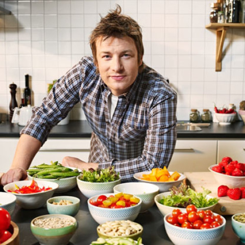 Dětský kurz s recepty Jamie Olivera